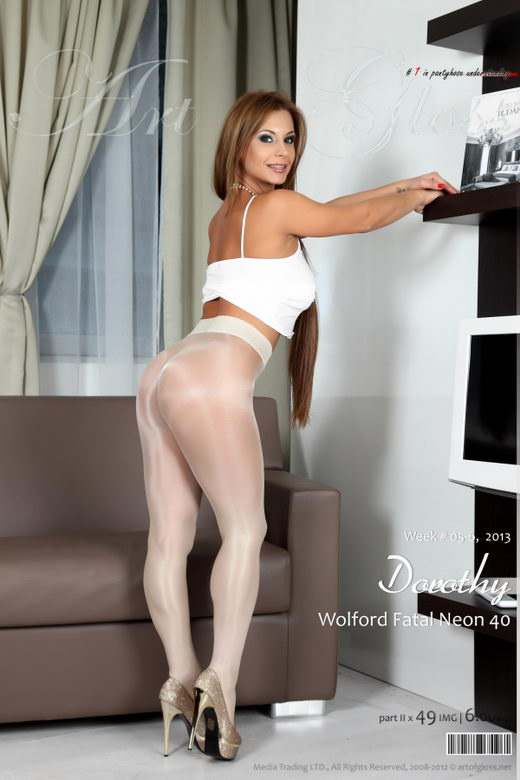 Dorothy - `Wolford Fatal Neon 40 Marmor [part II]` - for ARTOFGLOSS