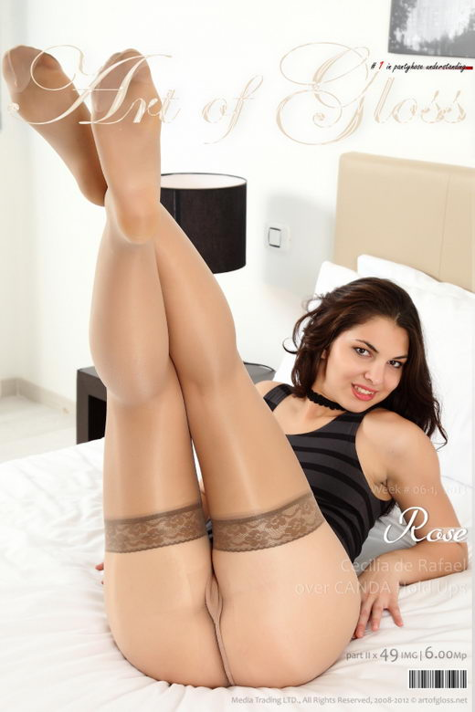 Rose - `Cecilia de Rafael over CANDA Hold Ups [part II]` - for ARTOFGLOSS
