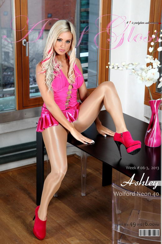 Ashley Bulgari - `Wolford Neon 40 [part III]` - for ARTOFGLOSS