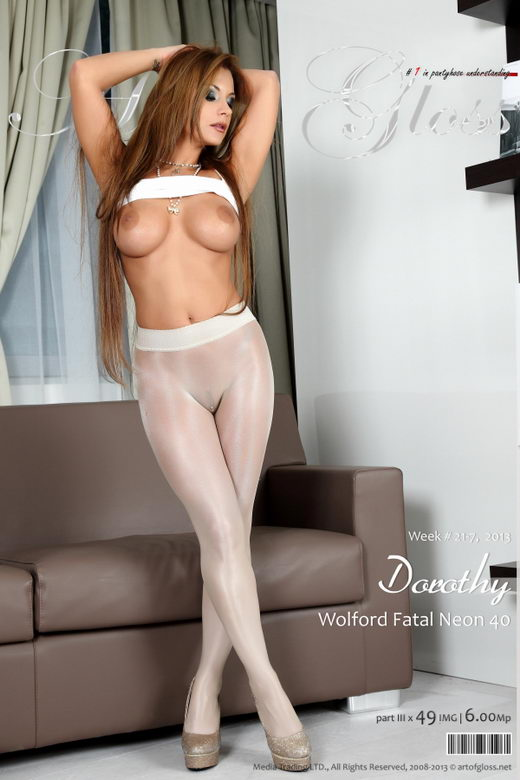 Dorothy - `Wolford Fatal Neon 40 [part III]` - for ARTOFGLOSS