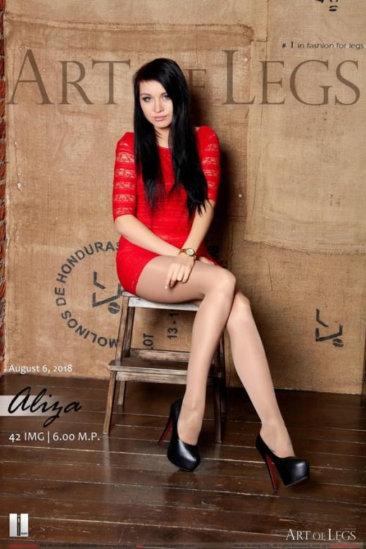 Aliza in #1365 gallery from ARTOFLEGS