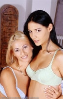 Zsuzsanna & Niki in lesbian gallery from ATKARCHIVES