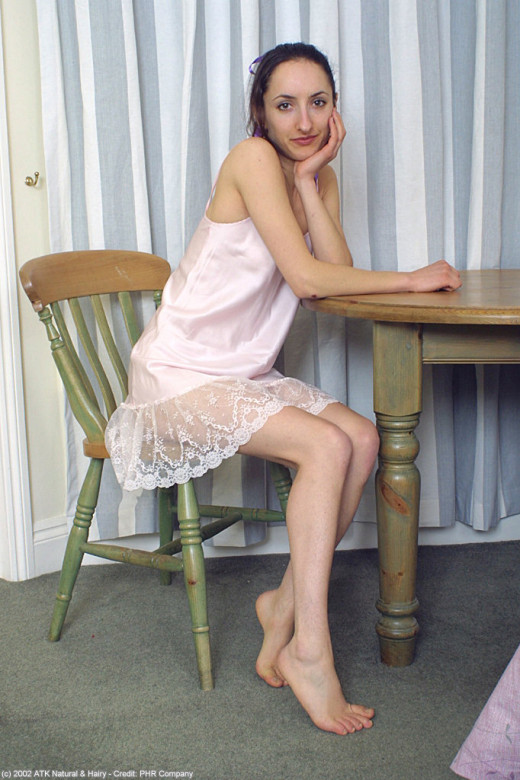 Fabienne in footfetish gallery from ATKARCHIVES