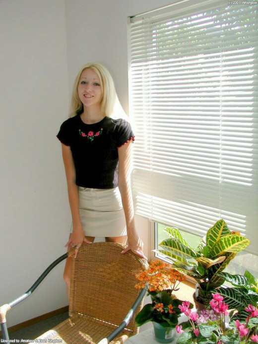 Bridget in upskirts and panties gallery from ATKARCHIVES