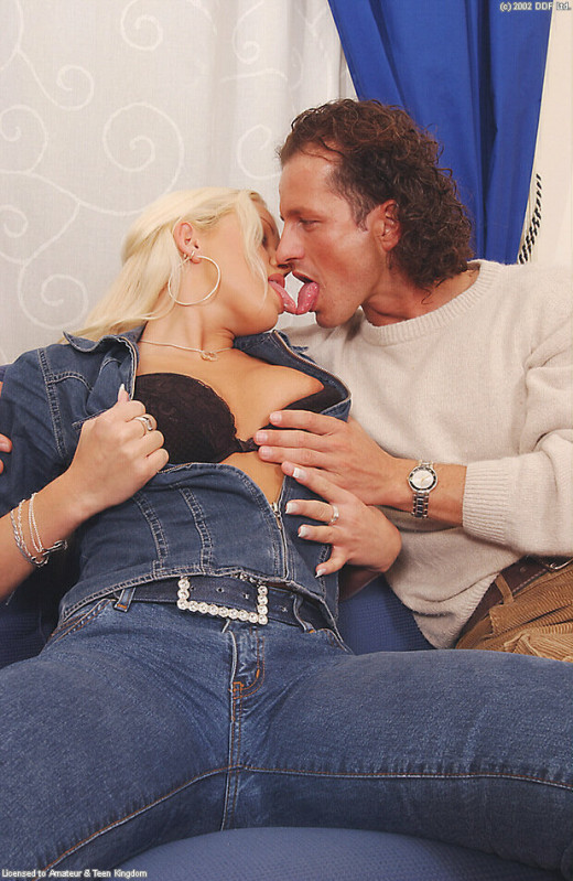 Stacy Silver in blowjob gallery from ATKARCHIVES
