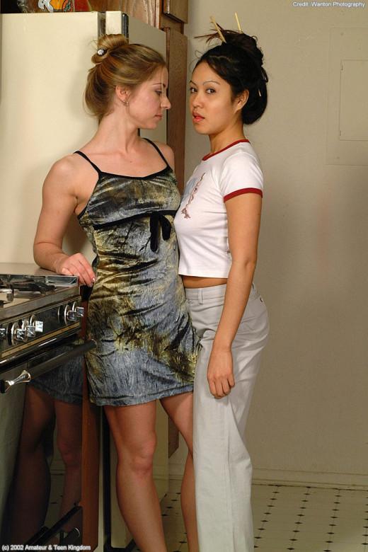 Avila & Milla in lesbian gallery from ATKARCHIVES