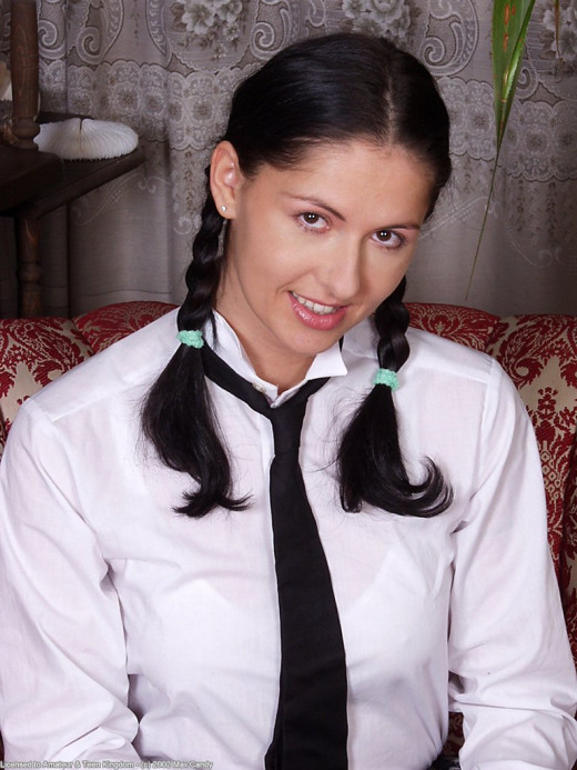 Gwen in coeds in uniform gallery from ATKARCHIVES