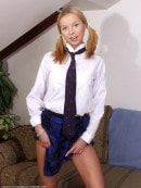 Andrea in coeds in uniform gallery from ATKARCHIVES