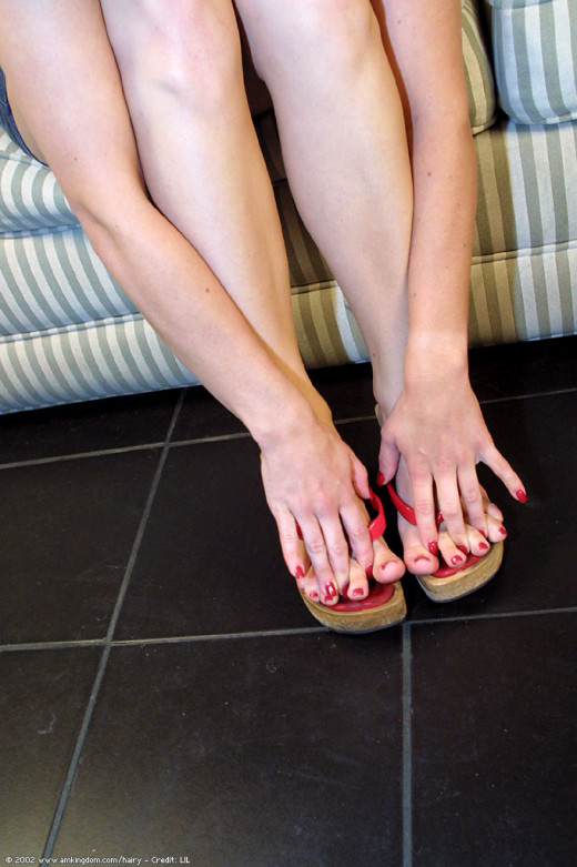 Sissy in footfetish gallery from ATKARCHIVES