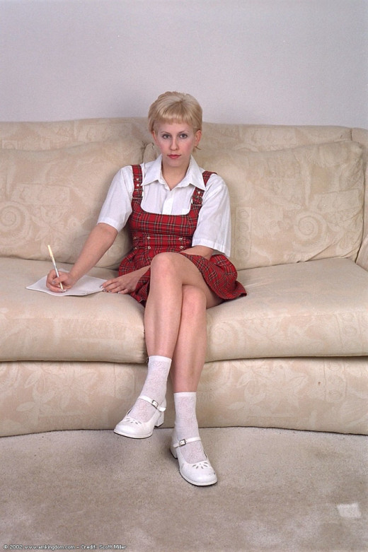 Wanda in coeds in uniform gallery from ATKARCHIVES