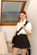 Katia in coeds in uniform gallery from ATKARCHIVES
