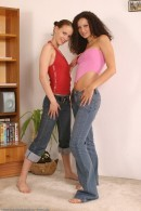 Andy & Viktoriya in lesbian gallery from ATKARCHIVES