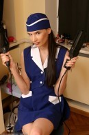 coeds in uniform