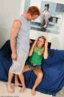 Allison Pierce in blowjob gallery from ATKARCHIVES
