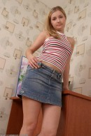 Olga in upskirts and panties gallery from ATKARCHIVES