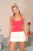 Cindy Dollar - upskirts and panties