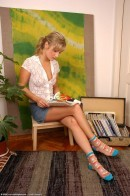 Olga in masturbation gallery from ATKARCHIVES