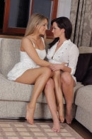 Nessy & Tess Lyndon in Lesbian gallery from ATKARCHIVES by Fred