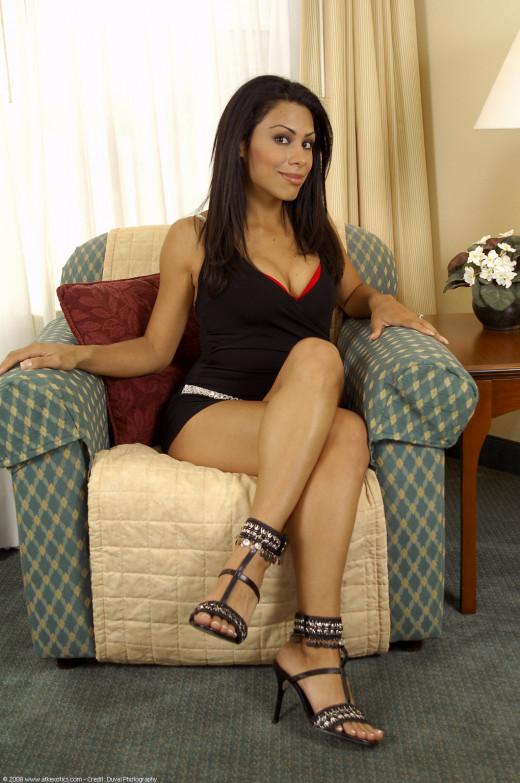 Latina babe Cassandra Cruz sliding underwear aside to masturbate pussy  583700