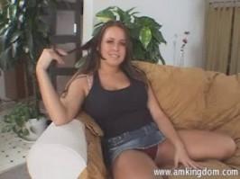 Girl fake tits