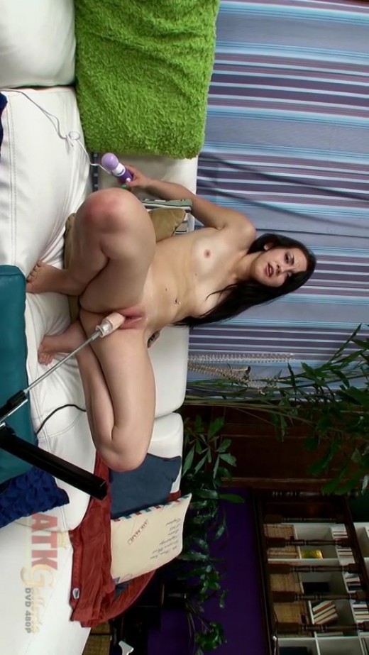 Mandy Muse in Sex Machine video from ATKGALLERIA