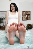 Kinsley Ann in FOOTFETISH 5 gallery from ATKGALLERIA