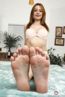 Scarlett Johnson in FOOTFETISH 5 gallery from ATKGALLERIA