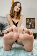 Brielle Woods in FOOTFETISH 4 gallery from ATKGALLERIA
