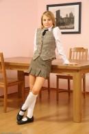 Olga - upskirts and panties