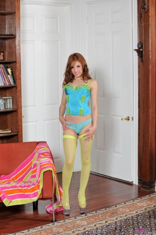 Evilyn Fierce in lingerie gallery from ATKPETITES