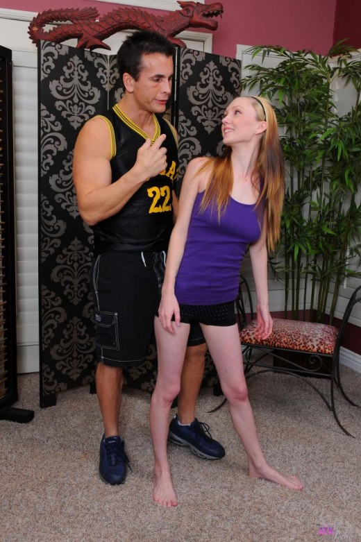 Amy Quinn in foot job gallery from ATKPETITES