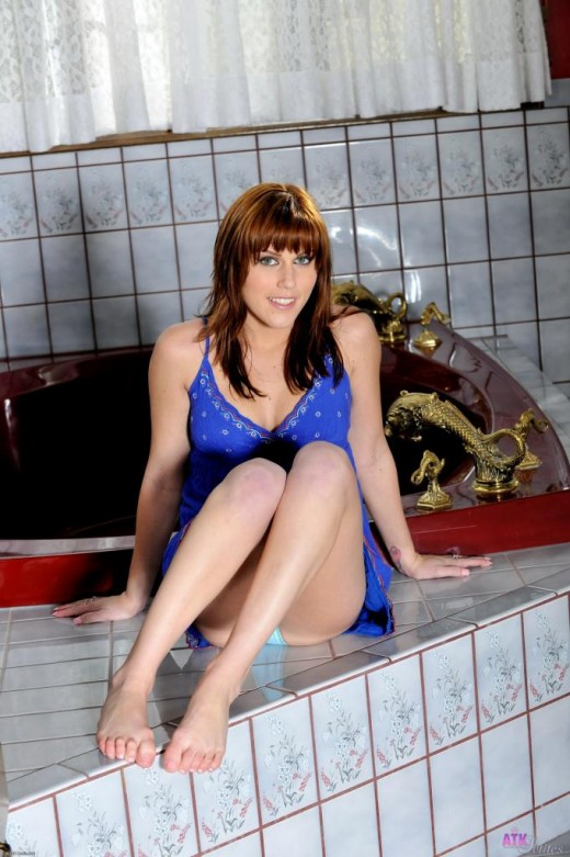 Sabrina Starr in footfetish gallery from ATKPETITES