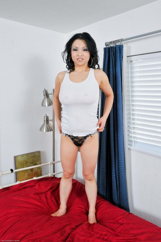 Alexis Lee in blowjob gallery from ATKPETITES