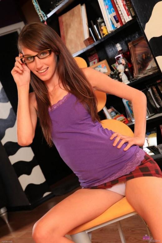 Keegan Monroe in upskirts and panties gallery from ATKPETITES