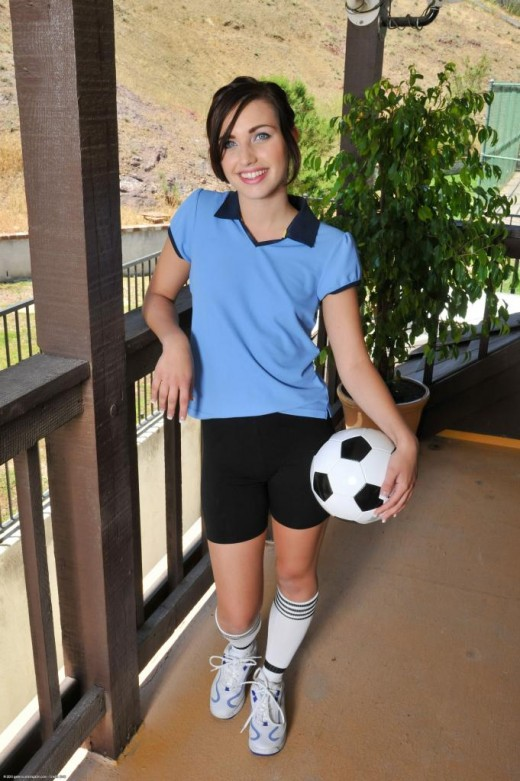 MaryJane Johnson in uniforms gallery from ATKPETITES