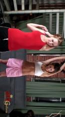 Hayden Winters & April O'Neil - Lesbian