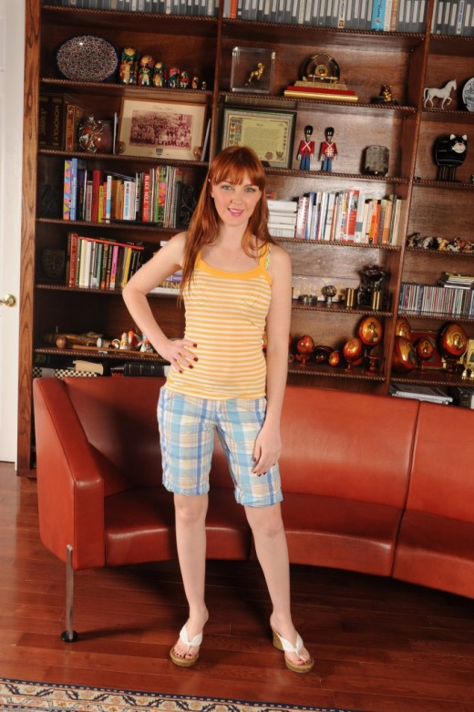 Marie McCray in masturbation gallery from ATKPETITES