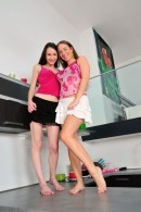 Jennifer & Eden in hairy lesbians gallery from ATKPETITES