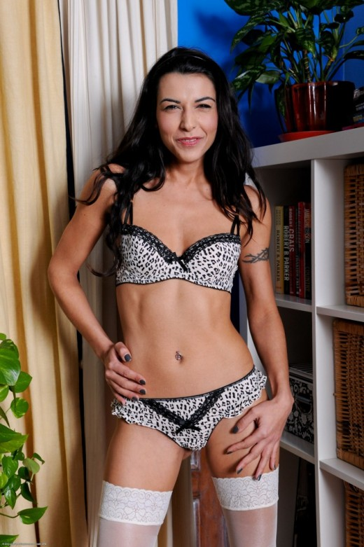 Lou Charmelle in lingerie gallery from ATKPETITES