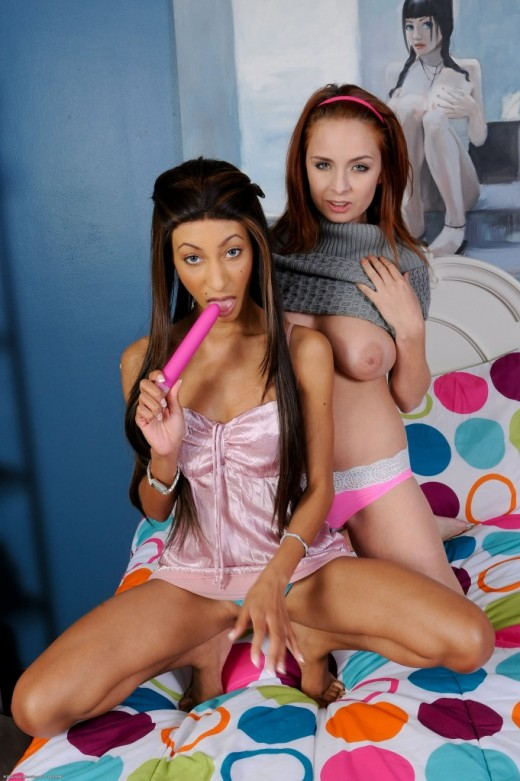Ashlee Graham & Nadia Pariss in lesbian gallery from ATKPETITES