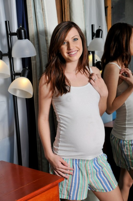 MaryJane Johnson in pregnant gallery from ATKPETITES