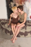 Jane & Dani in hairy lesbians gallery from ATKPETITES