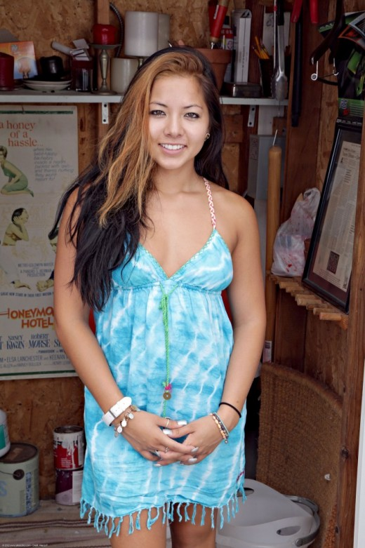 Morgan Lee in nudism gallery from ATKPETITES