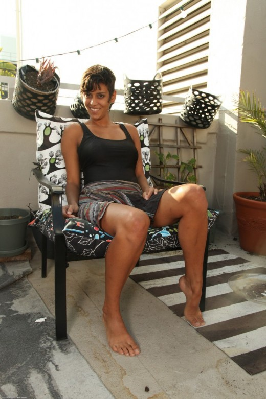 Sonya - `exotic and hairy` - for ATKPETITES