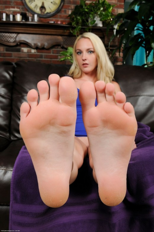 Ashley Stone in footfetish gallery from ATKPETITES