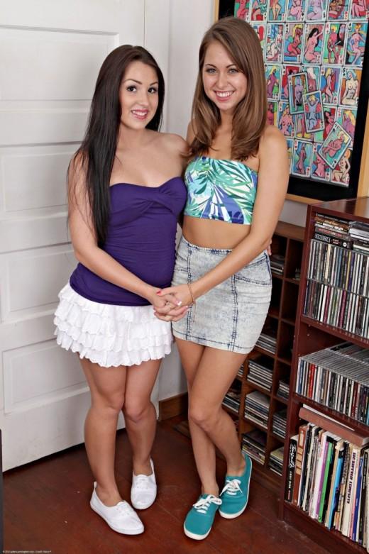 Riley Reid & Lola Foxx - `lesbian` - for ATKPETITES