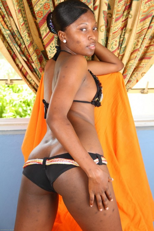 Babydoll in black women gallery from ATKPETITES