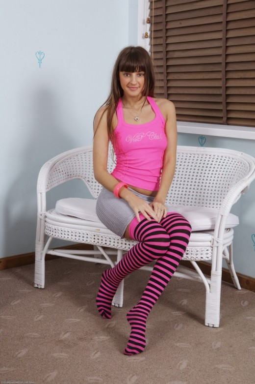 Melena in masturbation gallery from ATKPETITES