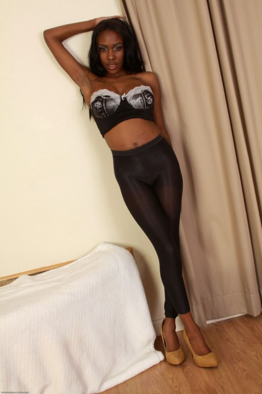 Nicole Dymond in black women gallery from ATKPETITES