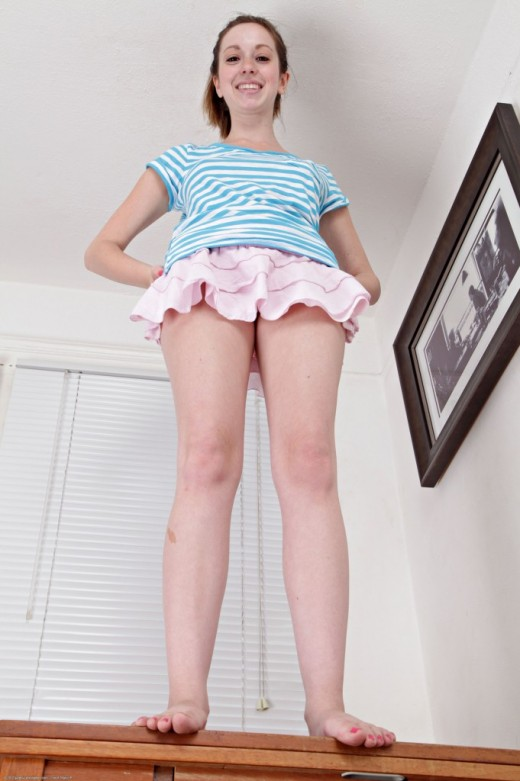 Ally Evans - `upskirts and panties` - for ATKPETITES